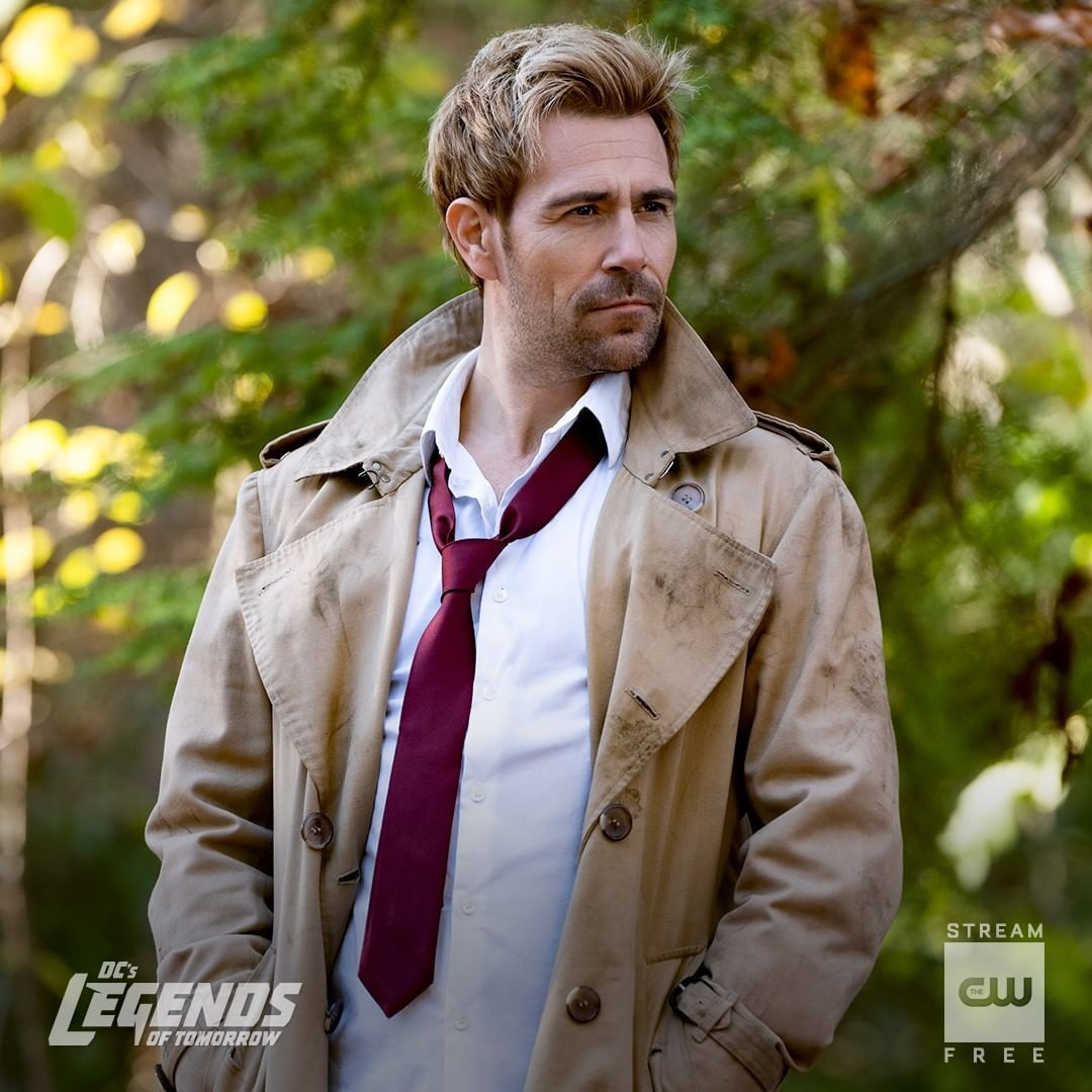 Dc S Legends Of Tomorrow On Instagram He Got Them Into This Mess Stream The Latest Link In Bi In 2020 Dc Legends Of Tomorrow Matt Ryan Constantine John Constantine