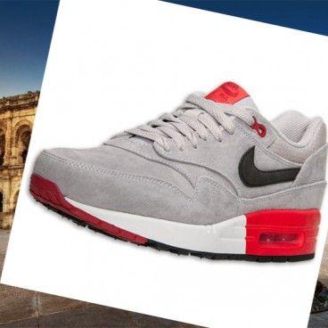 super popular d3fd2 34a5b Le migliori Nike Scarpe da corsa Premium Uomo Nike Air Max 1 grigio nero  rosso si