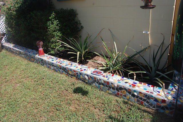 Pin By Carol Severson On Gardening The Great Outdoors Cinder Block Garden Mosaic Garden Amazing Gardens