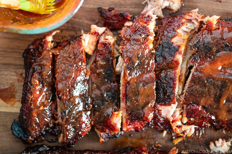 Traeger Baby Back Ribs Inspired By Franklin Bbq Just One Cookbook Recipe Franklin Bbq Baby Back Ribs Smoked Pork Ribs