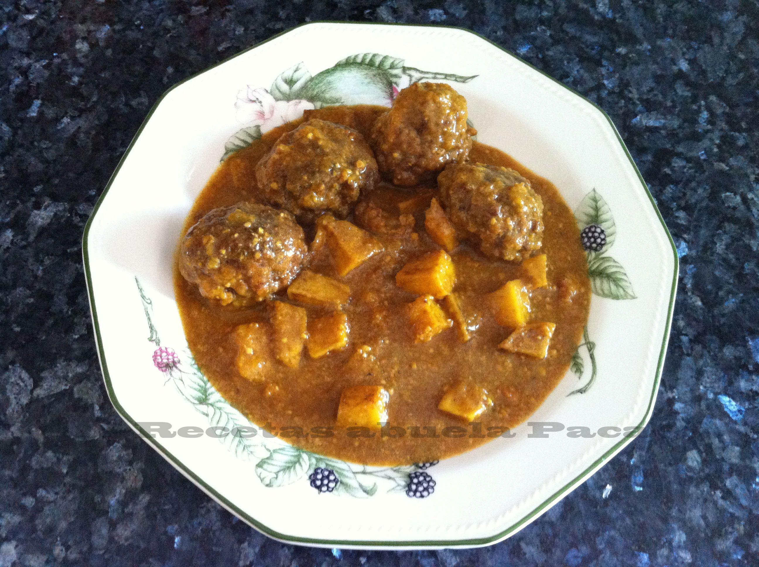 albondigas caseras blog  Cocina Almeriense  Cooking