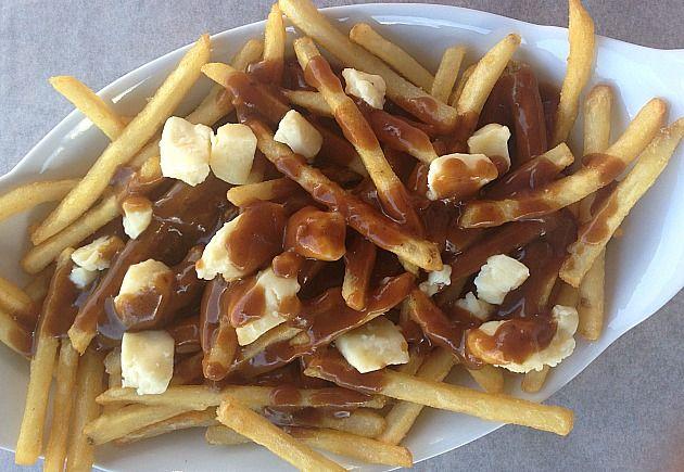 Poutine French Fries Gravy