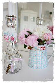 Der findes ikke mange blomster som jeg kan lide, på det område er jeg nok lidt sart ;-)   Men jeg elsker bare at få en buket med lyserøde o...