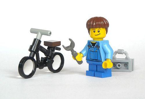 white lego bike - Google Search