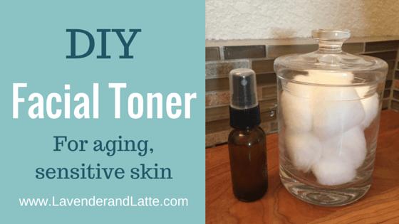 Facial toner for sensitive skin recipe