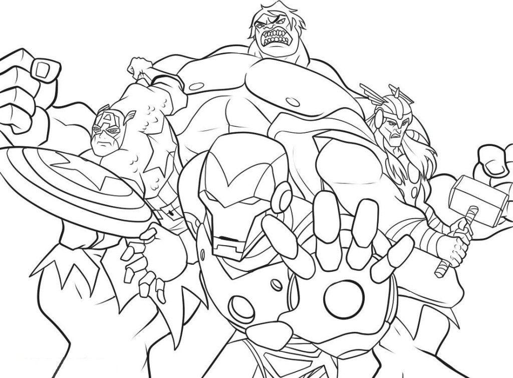 12 Nouveau De Coloriage à Imprimer Avengers Images en 2020