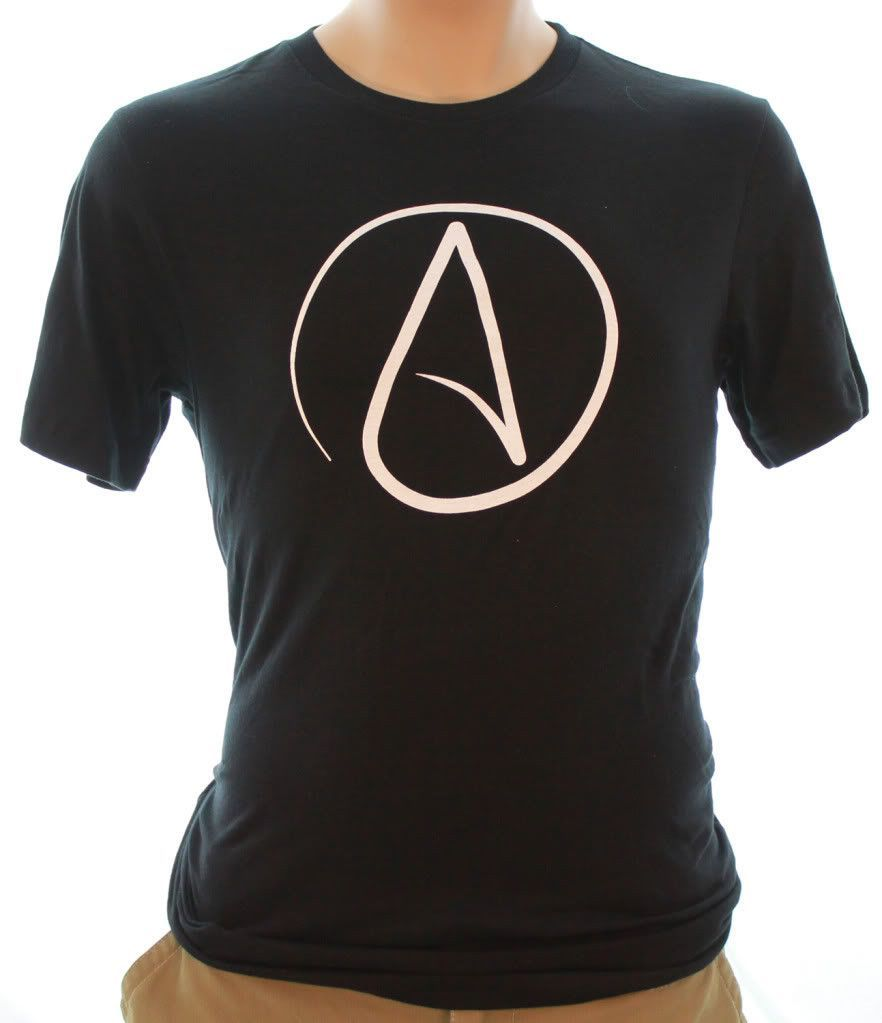 Atheist Black Print Asst Colors T Shirttee Products Pinterest
