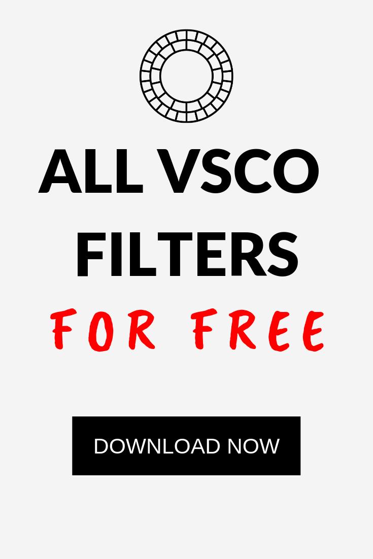 Vsco preset free download