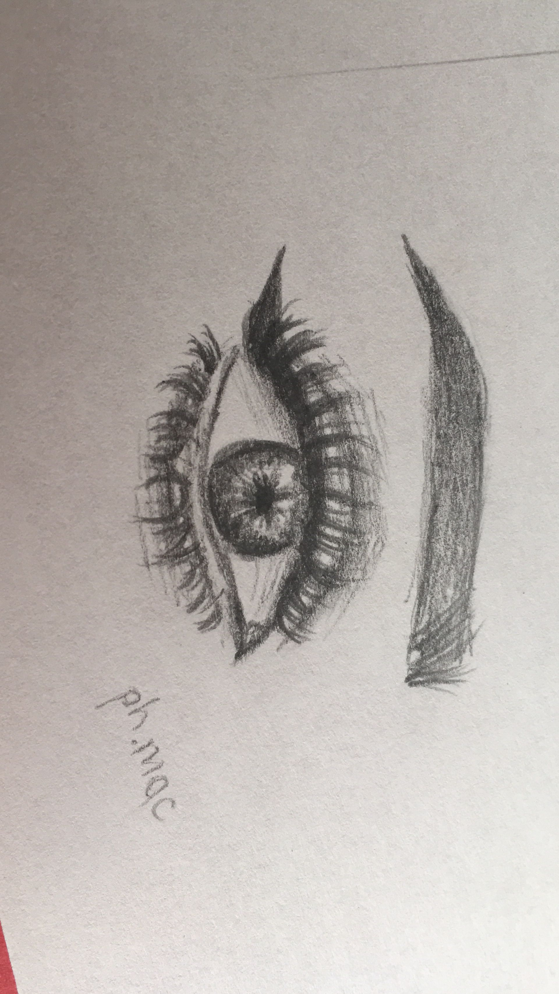 Drawing Tumblr Eye Pencildrawing Realistic Zeichnen