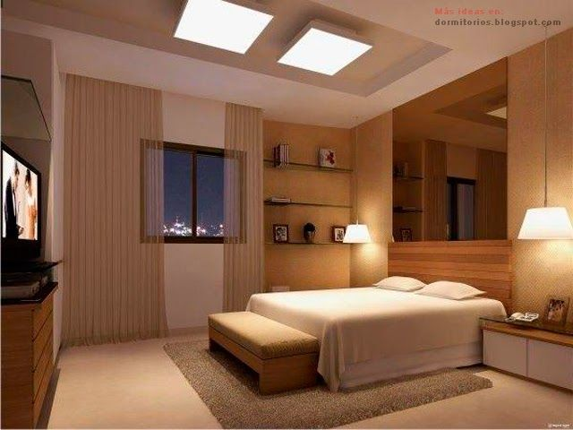 Dormitorios con techos altos dormitorios casas for Techos de recamaras