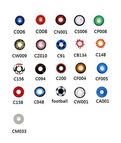 details about sale crazy coloured contact lenses kontaktlinsen color contacts lens halloween - Contact Lenses Color Halloween