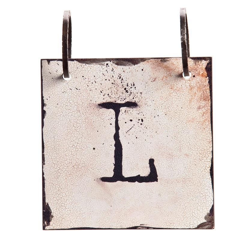Demdaco Words To Live By Letter L Alphabet Tile