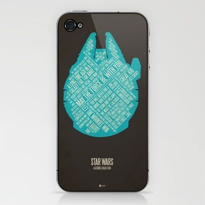 // Star Wars iPhone skin by Jerod Gibson - Society6 $15