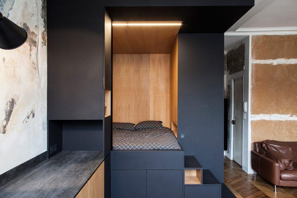 Home tour vivir en 30 metros cuadrados muebles chulos y for Decoracion de casas de 30 metros cuadrados