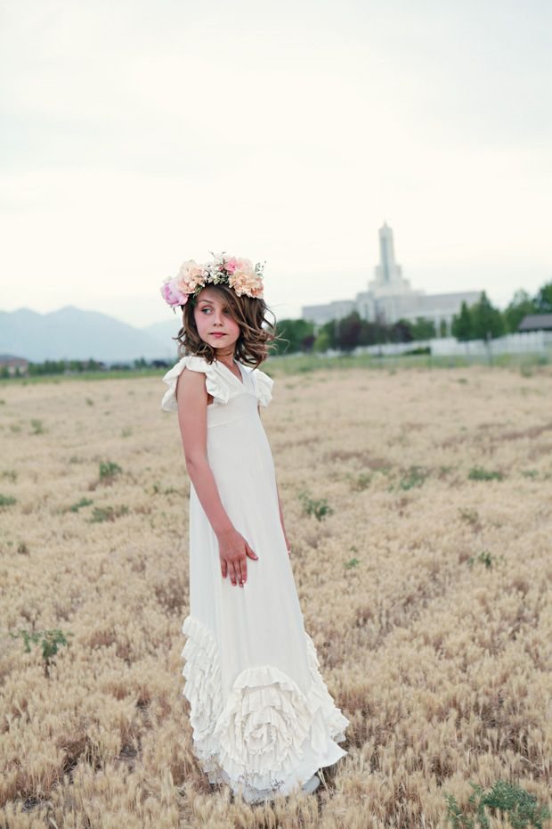 I have never seen a baptism dress that I love so much. Must have for ...