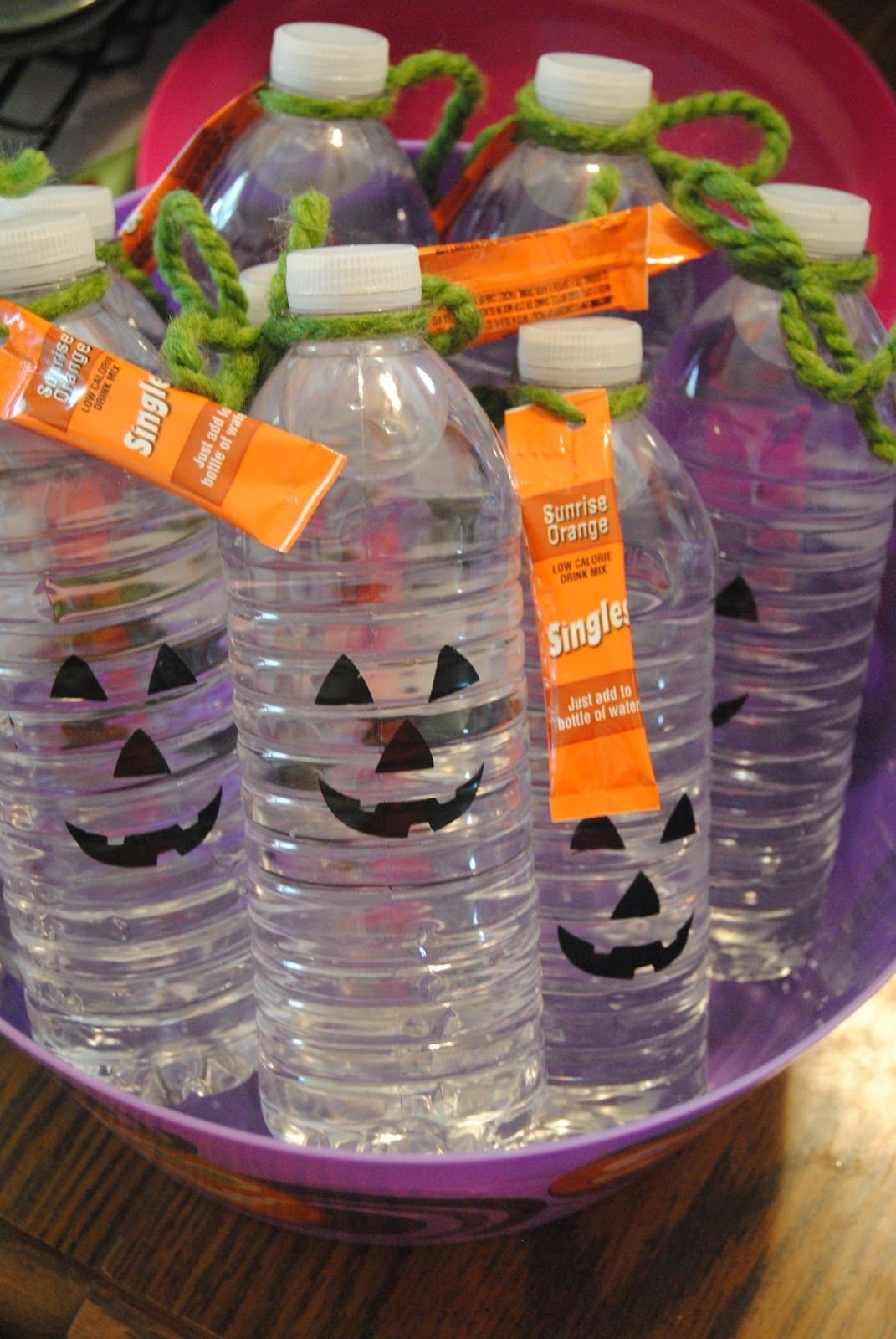 I was in charge of drinks for the 4th grade Halloween party this ...