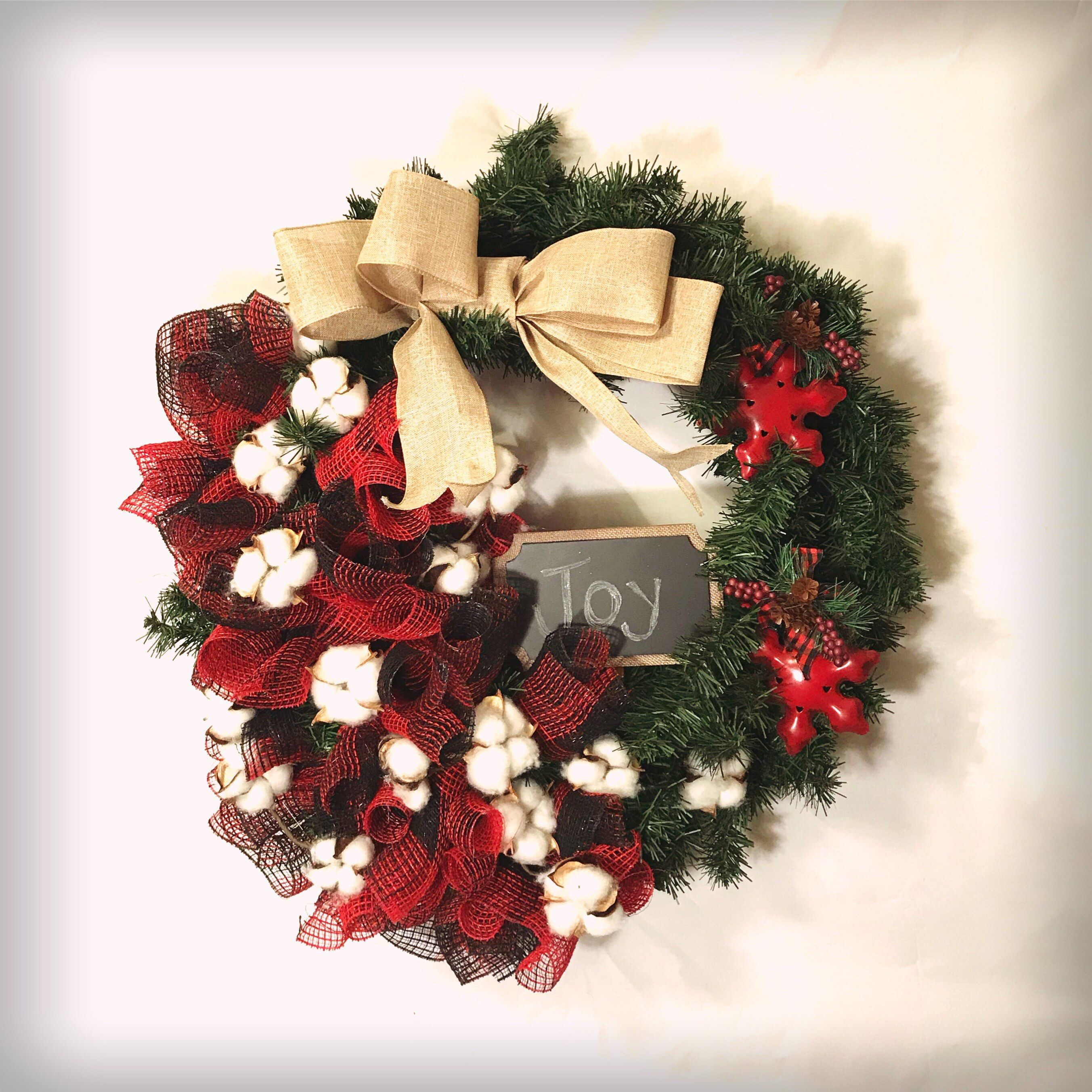 a personal favorite from my etsy shop httpswwwetsycom christmas wreathschalkboardsetsy