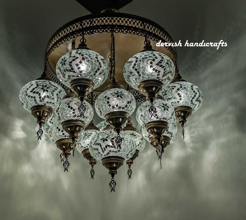 Turkish Lamp Hanging Lamp Ceiling Lights Chandelier Lampshades Moroccan Light Fixture Height 28 Wide 20 15 Mosaic Glass Globes Hanging Lamp Ceiling Lights Turkish Lamps