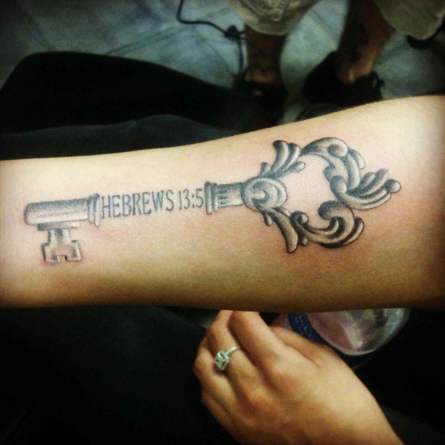 "hebrews 13:5<3 ""i will never leave you nor forsake you"""
