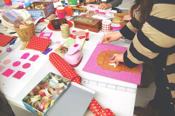 Scrap & Wrap I Workshop