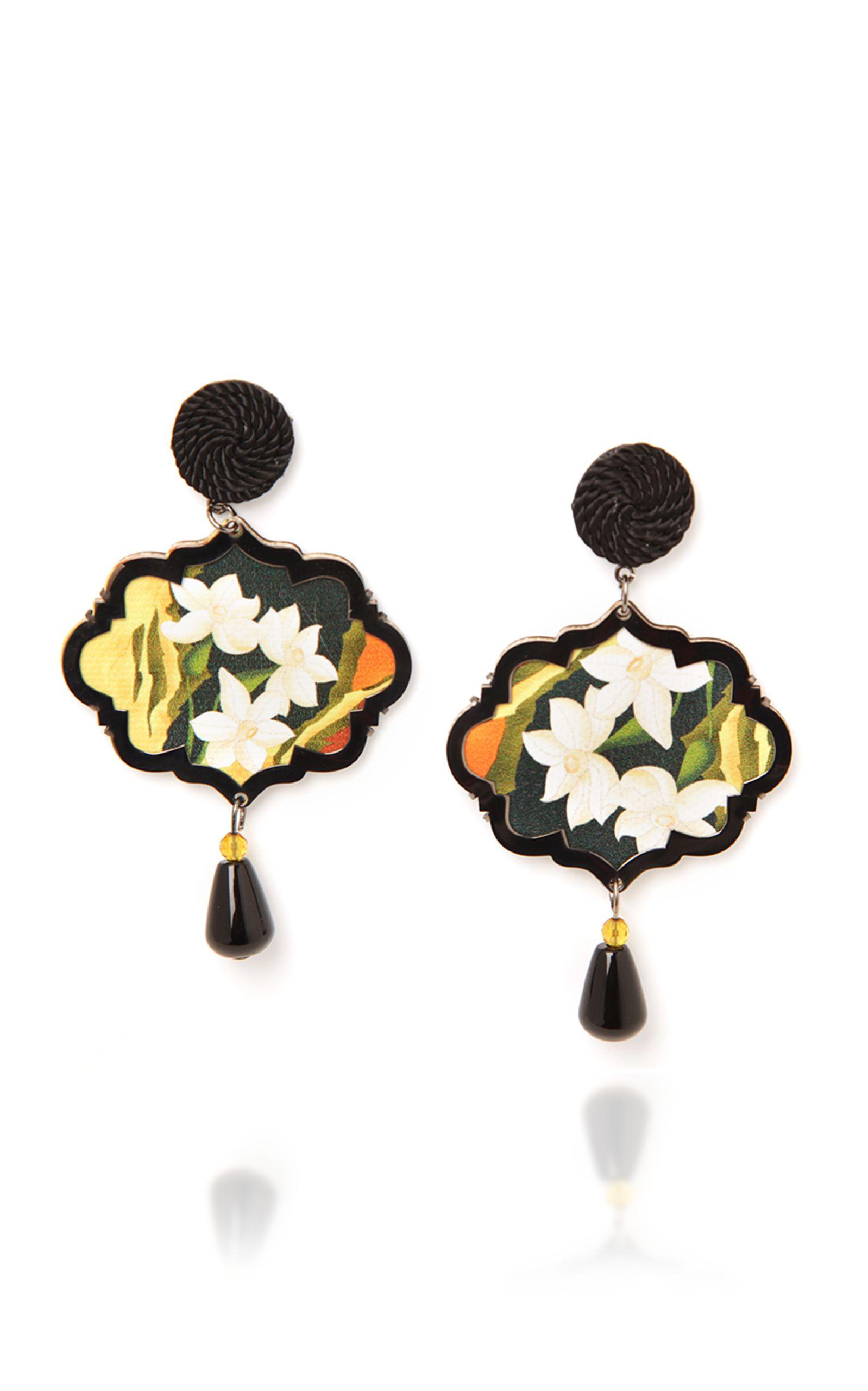 Anna E Alex Marco Polo Lotus Flower Earrings Annaealex Anna E