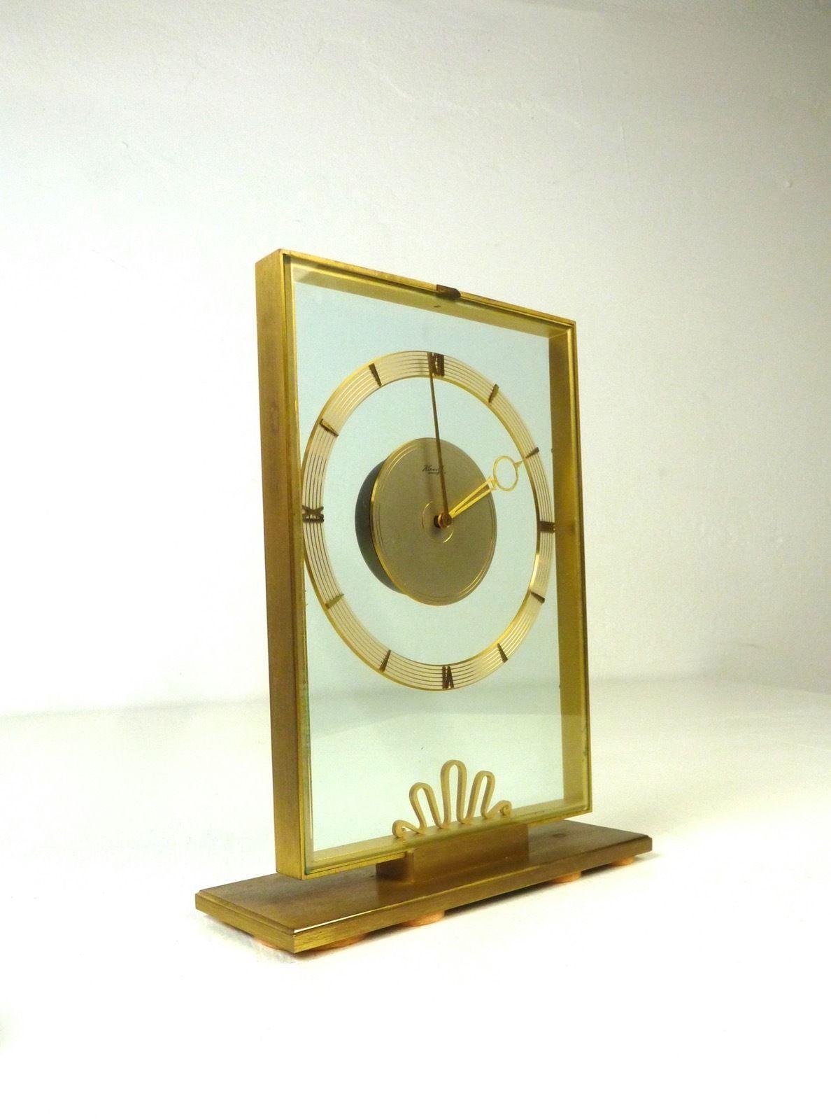 Modernism Kienzle Art Deco Table Clock Heinrich Möller Mid Century ...