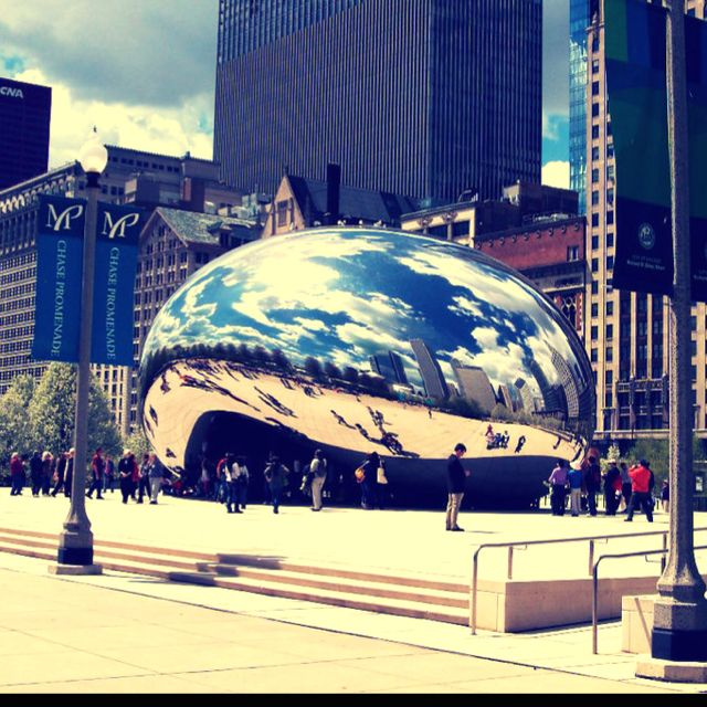 Ill leave a trail for you.~ chicago mirror bean :)