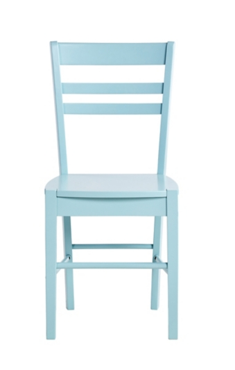chaise lucie bleue chaises colorees