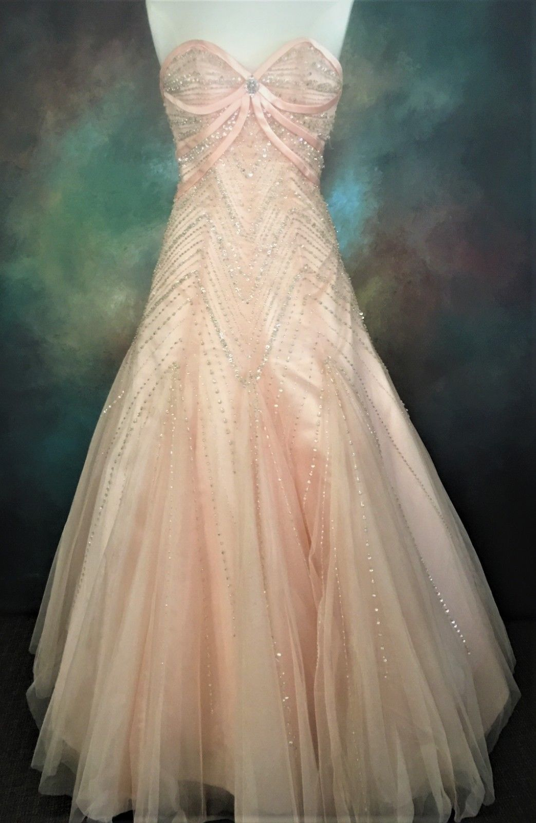 Posh precious tulle dress size pageant evening formal