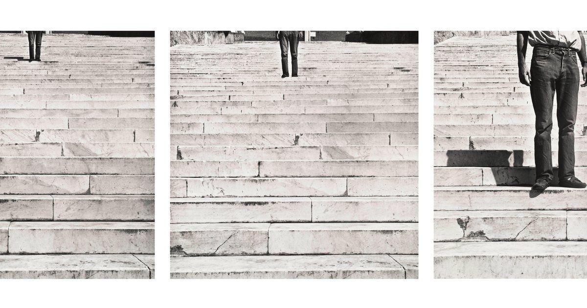 Robert Rauschenberg, Cy + Roman Steps (I–V), 1952, printed ca. 1997