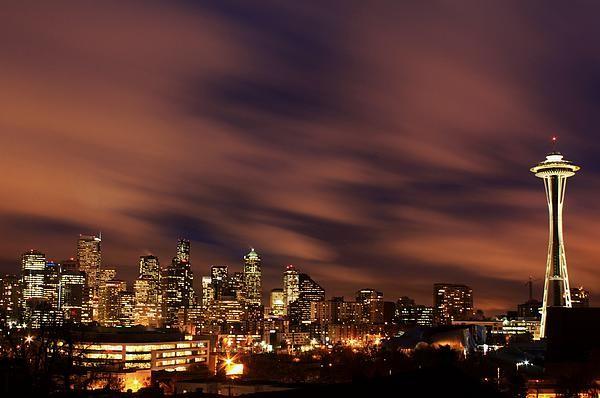 Beautiful Seattle skyline.