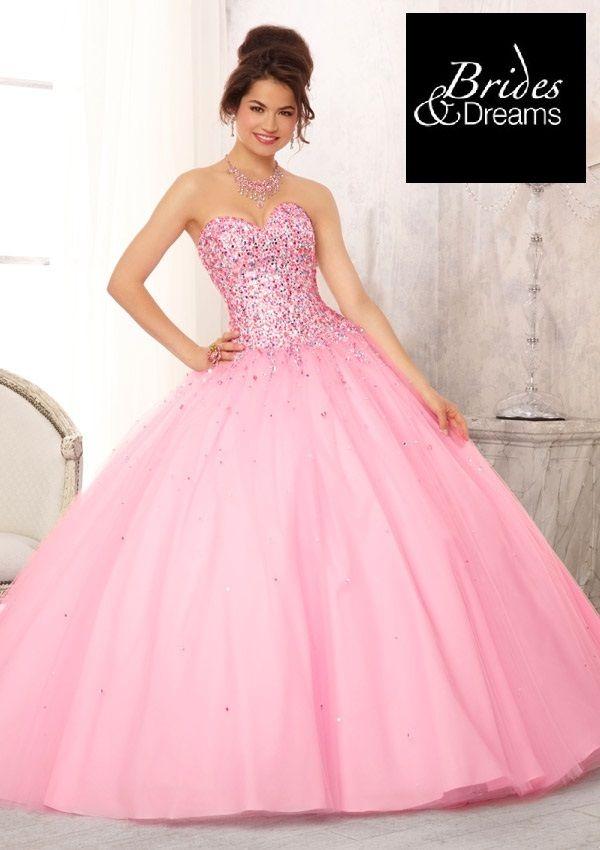 Maravilloso vestido de #QuinceAños con precioso escote sweetheart ...