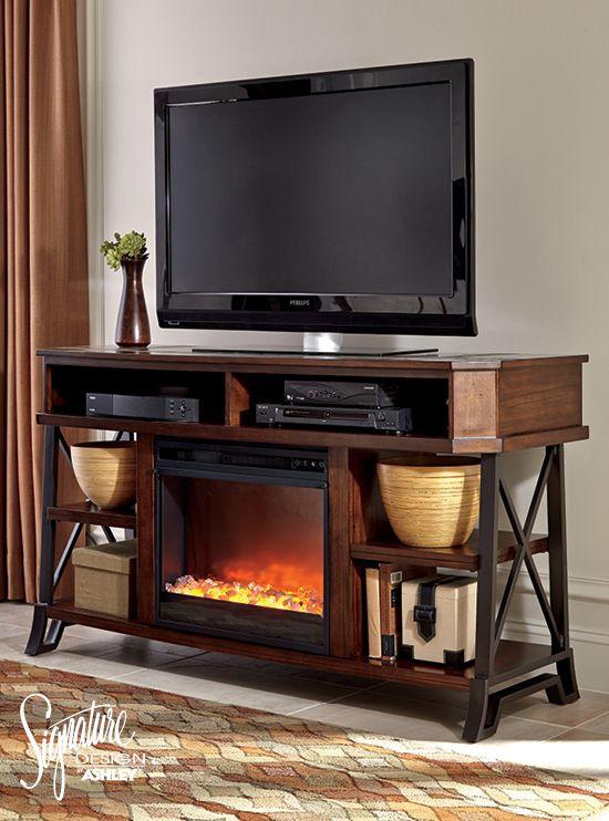 Vinasville Tv Stand Ashley Furniture Large Tv Stands
