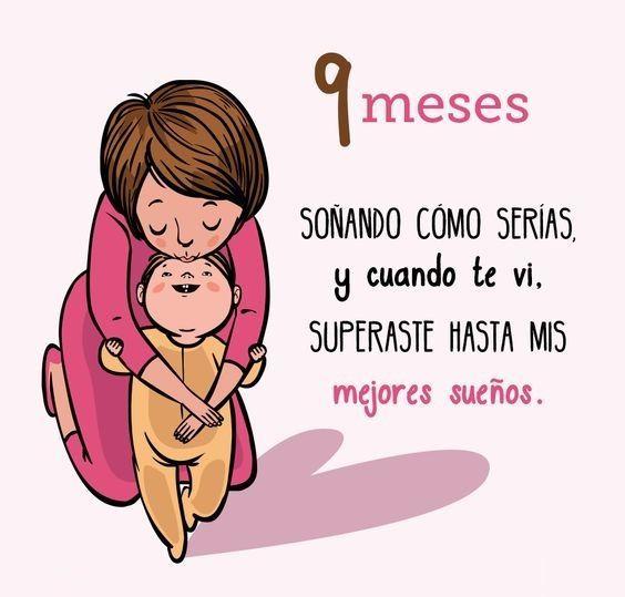 Frases para Bebés   Pinterest   Cuando te veo, Bebé recién nacido y ...