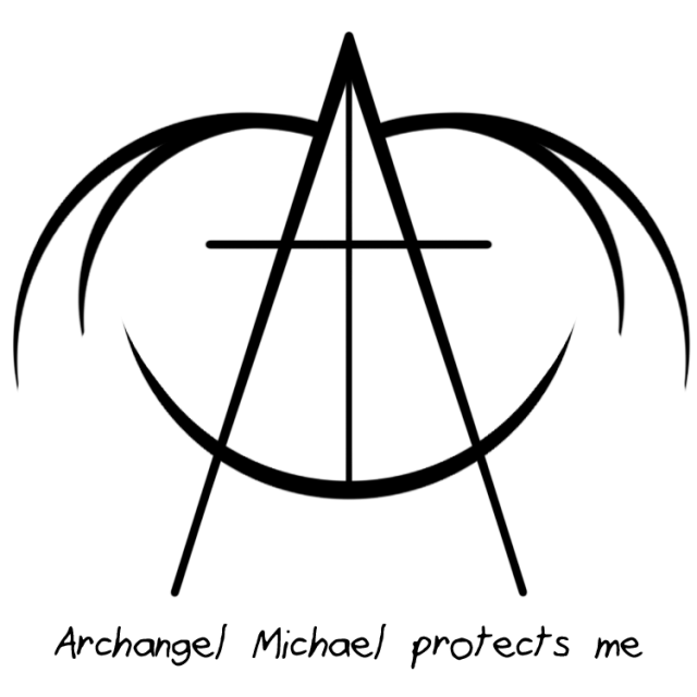 """""""Archangel Michael protects me"""" sigil requested by ..."""