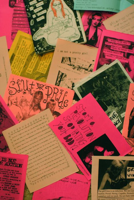 zines and tings