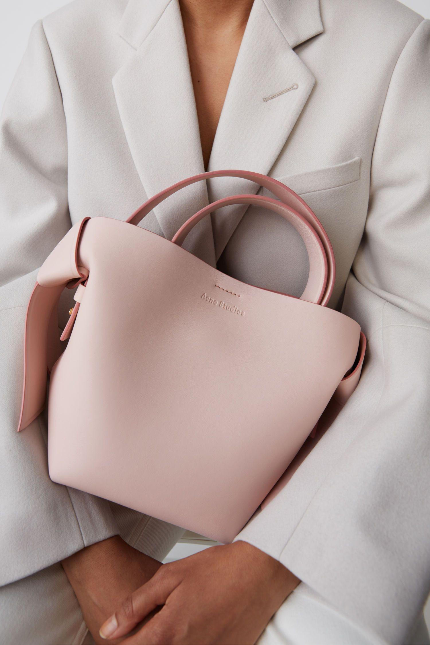 Acne Studios Musubi Mini Powder pink   Bags, Leather