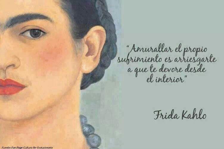 En citas espanol kahlo frida Las 10
