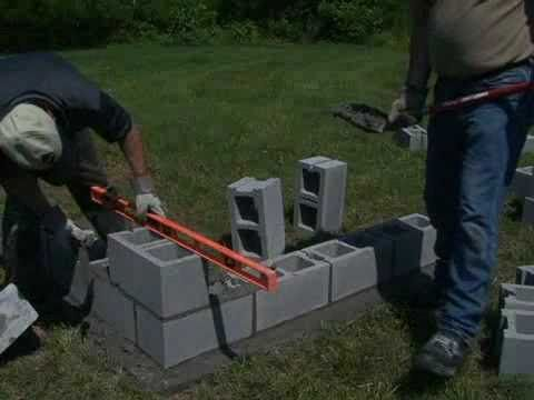 How To Form Concrete Walls Concrete Blocks Concrete Block Walls Concrete Wall