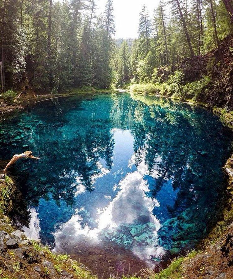 Charmant Tamolitch Blue Pool, Oregon