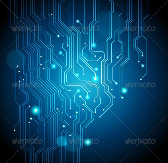 Abstract Circuit Board Background Electronics Background Abstract Backgrounds Abstract