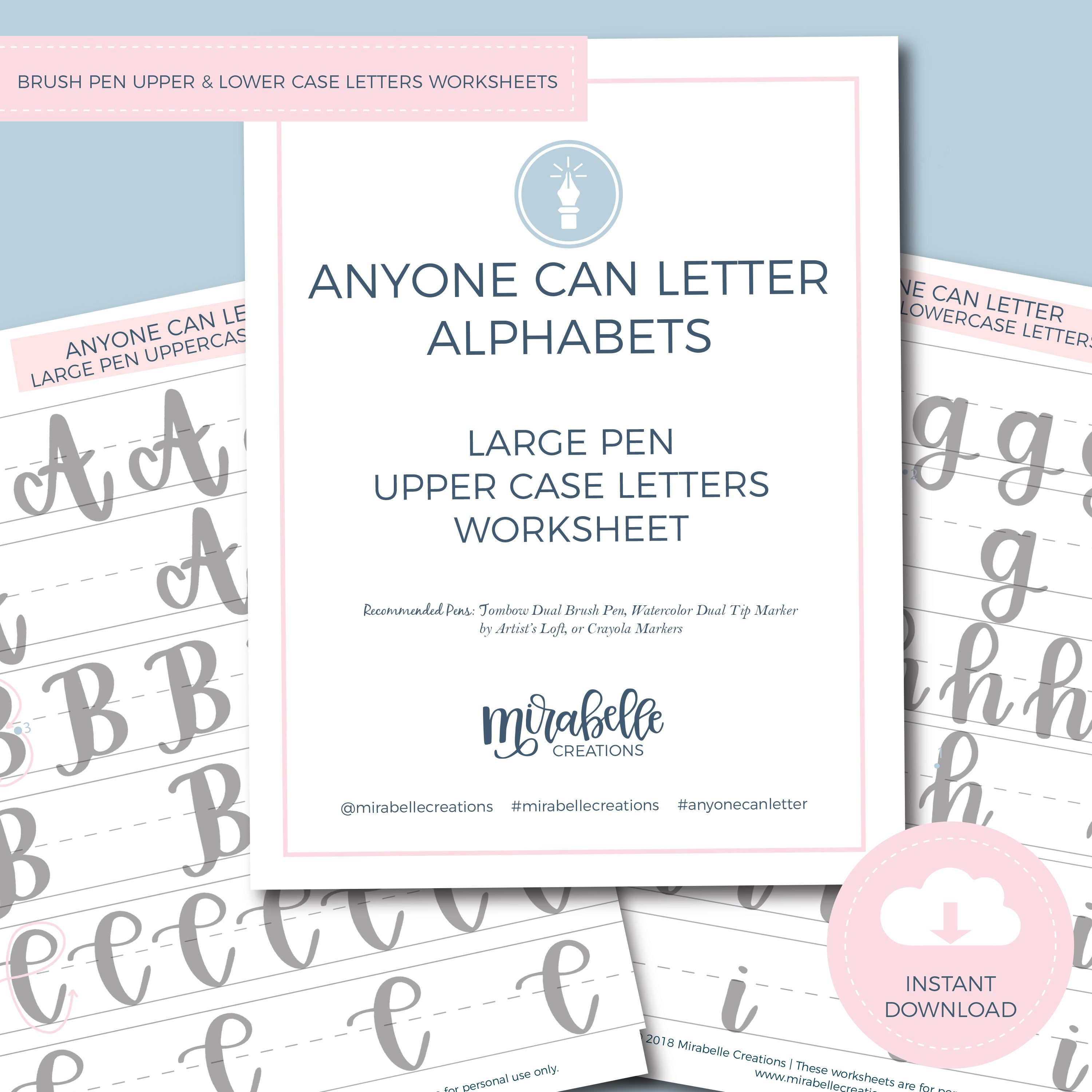 Anyone Can Letter Step 2 Workbook