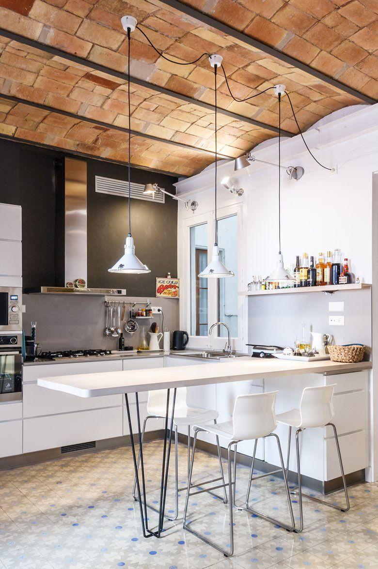 Kitchen Ceiling Fans Cool And Classic Design Of Ceiling Fans En 2020 Diseno De Cocina De Lujo Techos De Cocina Techos Abovedados