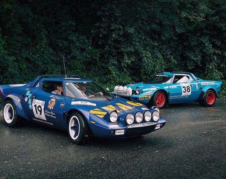 Lancia Stratos Blue