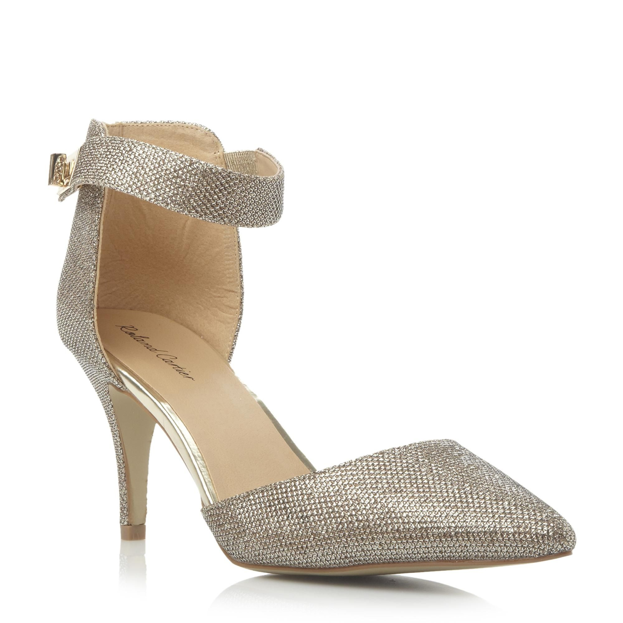 Roland Cartier Ladies DECADENT - Two Part Pointed toe Court Shoe - gold |  Dune Shoes Online
