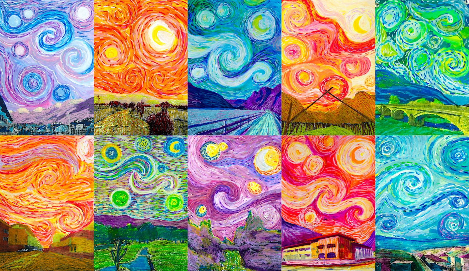 Van Gogh At My Place Van Gogh Art Art Lessons Starry Night Art