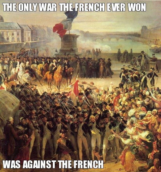 French Army Oxymoron Funny Humor Fail French Revolution