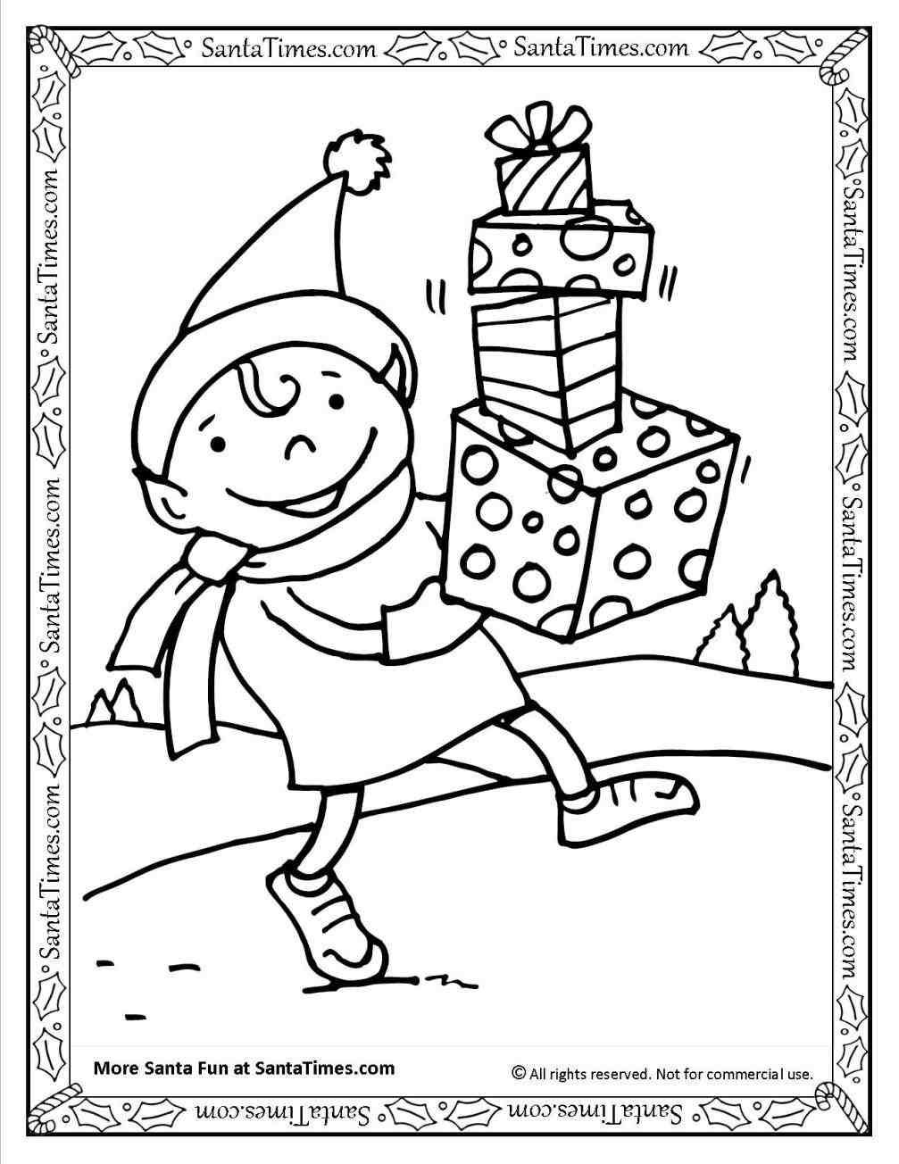 Christmas Elves Coloring Pages Printable Xmast Site Printable Christmas Coloring Pages Printable Coloring Book Geometric Coloring Pages