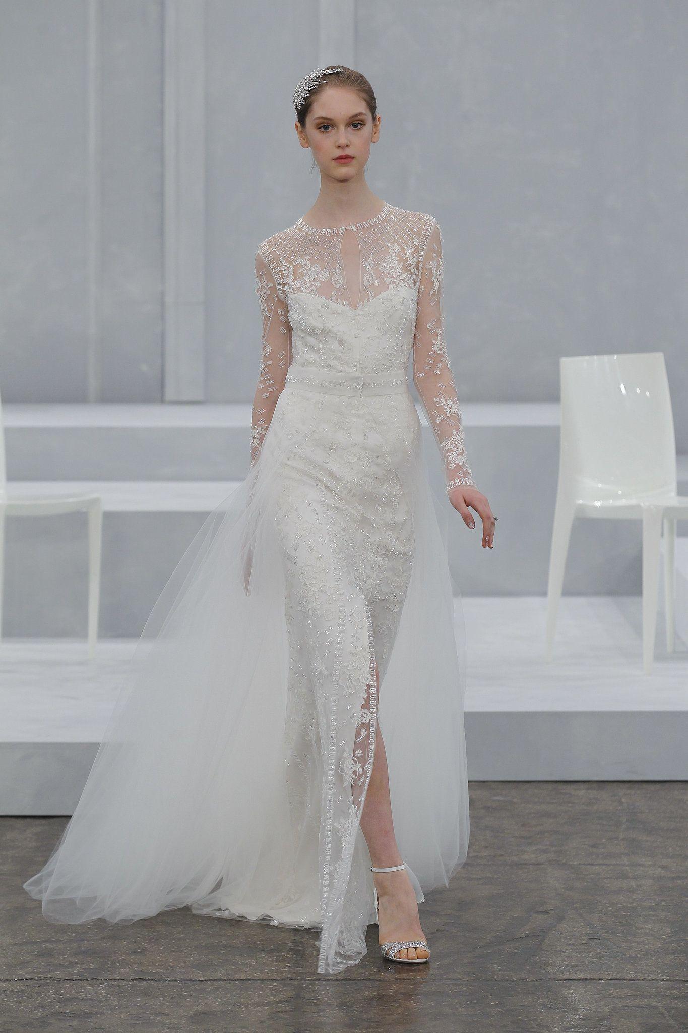 Top 10 Bridal Trends for 2015   Monique lhuillier bridal, Monique ...
