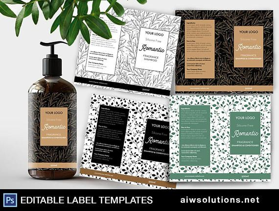 Shampoo label cosmetic Label template Body Wash Label Label - labeltemplate